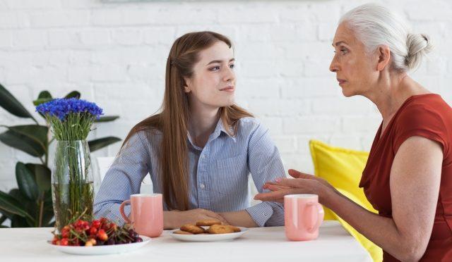 何を話しても自分のことに引込む80歳の母親に小さい頃を思い出してイラッ